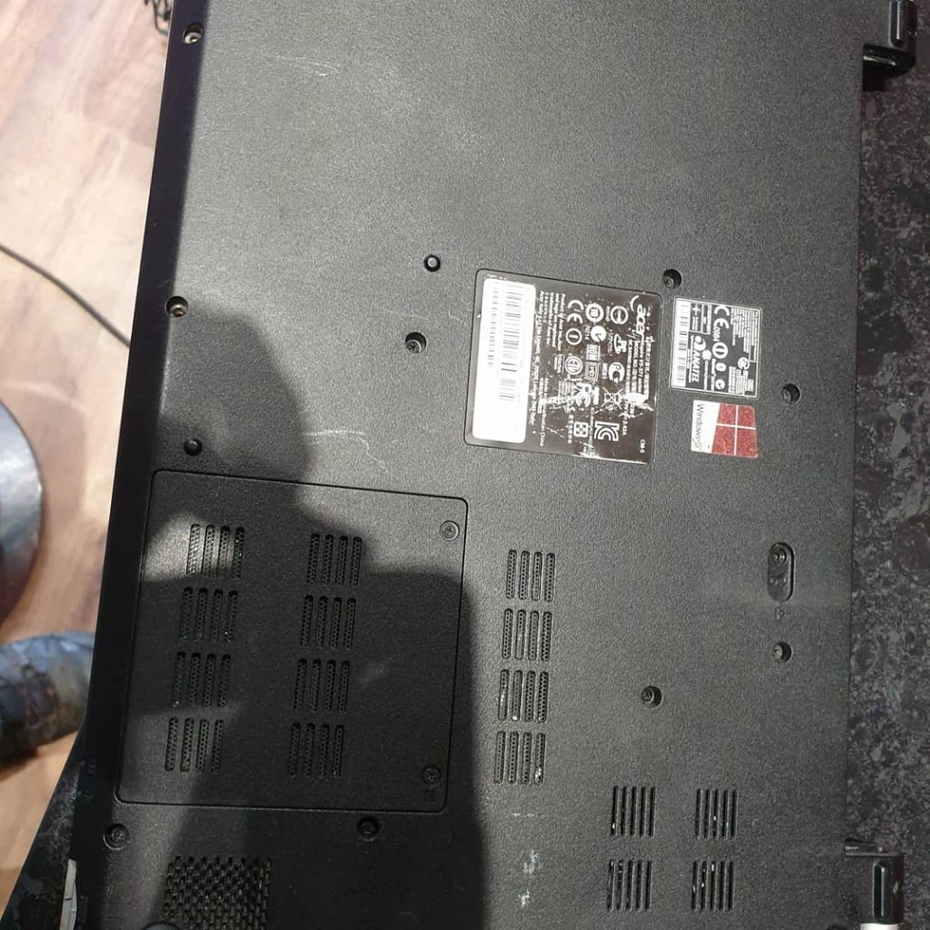 Acer Laptop Hard Drive To SSD Upgrade - City PC Repairs