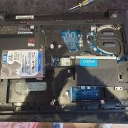 Lenovo Laptop Being Repaired