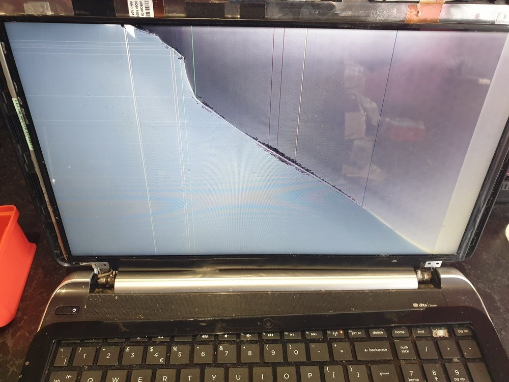 HP Laptop Screen Repair Service Edinburgh